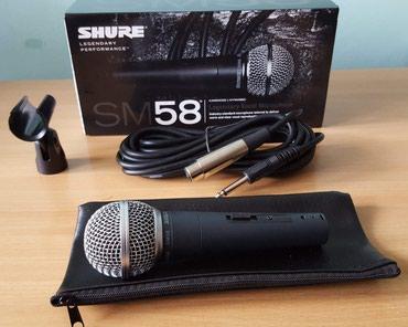 Shure SM58 - Nis