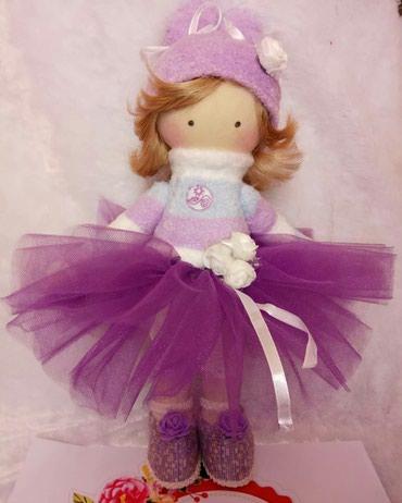 Интерьерная кукла игрушка новогодний подарок   ручной работы в Бишкек