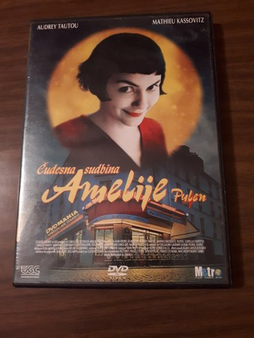 Film original  dvd  cudesna sudbina amelije pulen, ocuvan kucna kolekc - Beograd