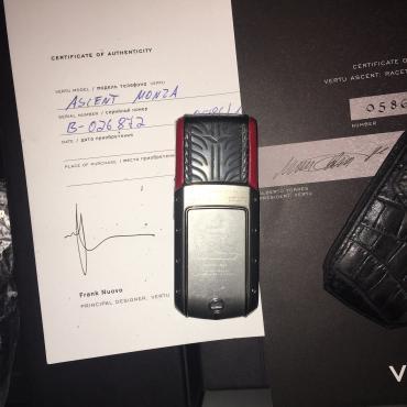 Bakı şəhərində Vertu ascent monza (limited edition) cemi 1000 tirajda satisa- şəkil 4