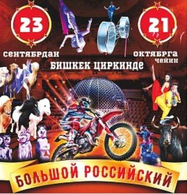 Заключительное представление цирка в Кант