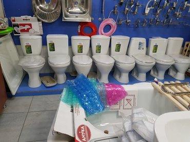 Продаю унитазы оптом и в розницу от 2900 и выше. в Бишкек