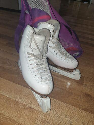 Продаем профессиональные коньки для занятий фигурным катанием, ботинок