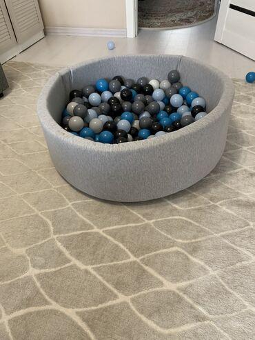 шарик для беременных в Кыргызстан: Сухой бассейн вместе с шариками . Чехлы съёмные можно стирать . Покупа