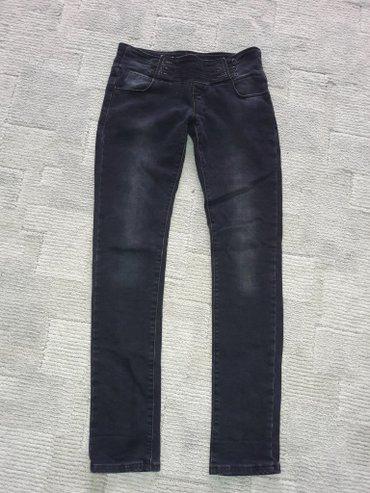 зауженные джинсы для мужчин в Кыргызстан: Джинсы зауженные книзу, утепленные немного, посадка низкая, размер 28