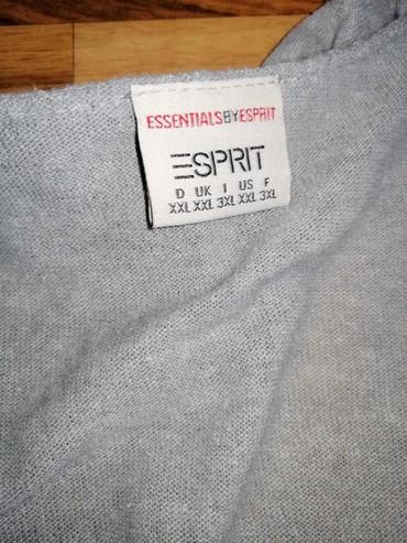 Esprit zenski kardigan, 100% pamuk, velicina XXL, kao nov, bez ikakvih - Pirot
