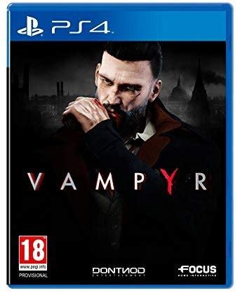 Bakı şəhərində Ps4 üçün Vampyr oyun diski satılır Yenidir bağlı upokovkada orginal