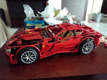 Lego 8145 Racers 1:10 Ferrari 599 GTB Fiorano Used 100% complete with σε North & East Suburbs