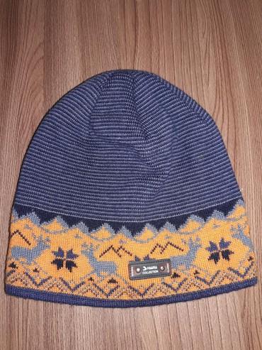 шапочка на годик в Кыргызстан: Теплая шапочка на осень!❄!с 6 месяцев до 1,5 годика!!