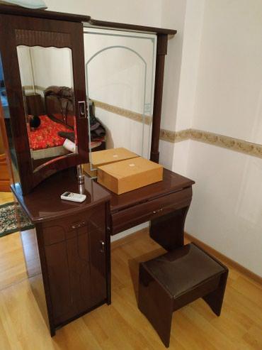 Спальный гарнитур 2тумбы;камот и зеркало для дам в Бишкек