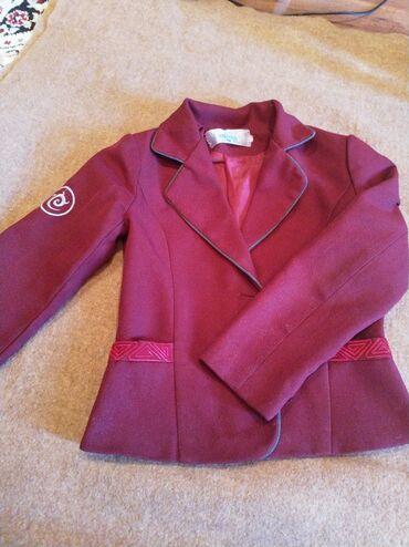 Школьный пиджак на девочку. Размер 32. В хорошем состоянии