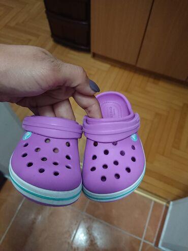 Dečija odeća i obuća - Crvenka: Crocs papuce broj 21,22