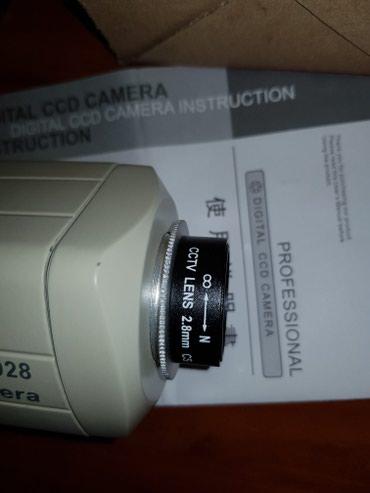 Камера видеонаблюдения с объективом 2.8, аналоговая JSP в Бишкек - фото 2