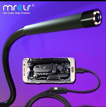 680 elan | TIBBI AVADANLIQ: Endoskop kamera diametr 5,5mm,ve 7mm kabel 1 ve 2 metr yuksek