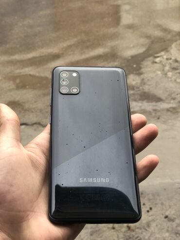 Samsung Galaxy A31 | 64 ГБ | Черный | Б/у | С документами