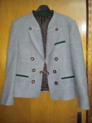 Sako-sa - Srbija: Sako-jaknica od vune sa vezom