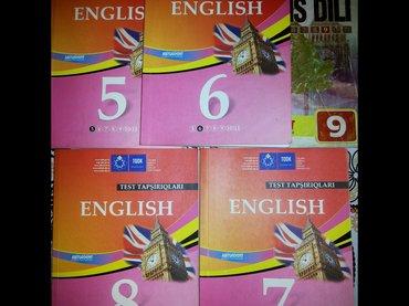 Quba şəhərində Ingilis-dili sinif testleri satilir.