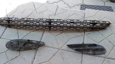 Продам решетку на бампер мерседес 220, рейстайлинг  в Бишкек