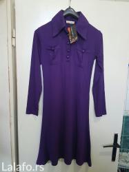 Haljina je nova, obucena je jednom, samo zbog probe. Prati liniju tela - Kikinda