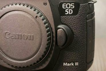 Canon EOS 5D mark 3 ideal vəziyyətdə.Hec bir problemi в Bakı