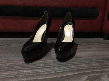 туфли-черные-женские в Кыргызстан: В отличном состоянии! MariaMoro оригинальные туфли !