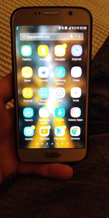 Samsung-galaxy-s6 - Азербайджан: Samsung Galaxy S6 Sade (250Azn)
