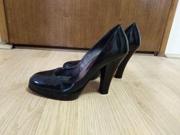 Original boss pantalone cena - Srbija: Ženske KOŽNE cipele BN BOSS Br. 39 Cena 800,00