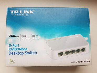 Свитч switch tp-link tl-sf1005d 5-портовый