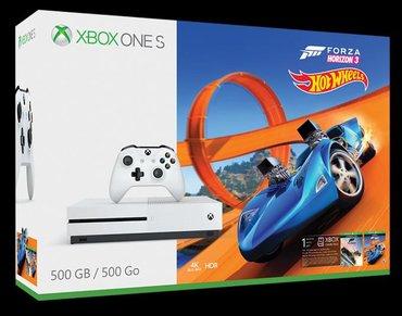 Xbox One Azərbaycanda: Xbox one s 500 gb.Fifa18 +Forza harizon3 hot wheels biryerde.Ela