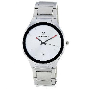 daniel klein в Кыргызстан: Серебристые Мужские Наручные часы Daniel Klein