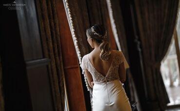 Личные вещи - Кыргызстан: Вечернее свадебное платье Из итальянского атласа и кружева, надевала о