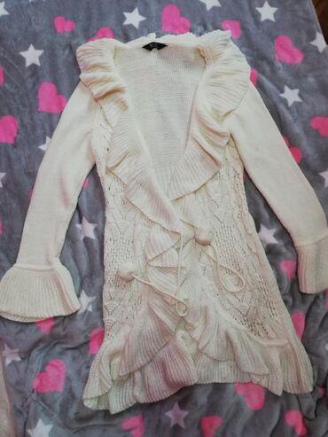 Ponco vuna akril - Srbija: Ženski džemper prirodna vuna