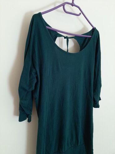Pamucna bluza nemackoj - Srbija: Tamno zelena bluza majica pamucna.  Veličina M