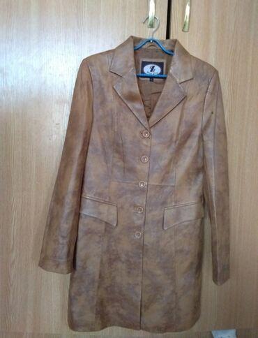 Мужская одежда - Кок-Ой: Куртка кожаная