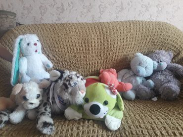 мягкие игрушки в Лебединовка
