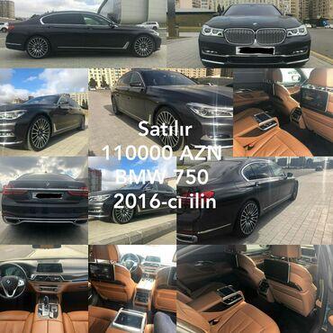 bmw 5 серия 520i 5at - Azərbaycan: BMW 750 2016