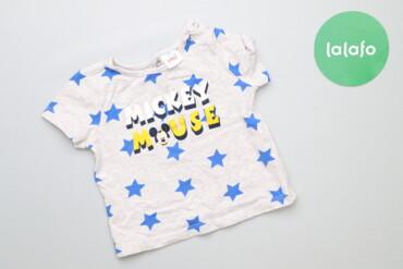 Топы и рубашки - Синий - Киев: Дитяча футболка з принтом Lc Waikiki Disney, вік 3-6 міс., зріст 62-68