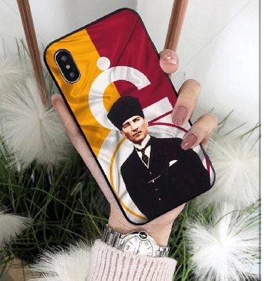 """Другие аксессуары для мобильных телефонов в Ширван: """"Galatasaray"""" telefon arxaliqlari (Kaburo) iPhone 5/5S/SE"""