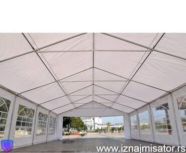 Šatori - Beograd: Sale Aleksandar 060- Iznajmljujemo prelepe bele, NOVE paviljon šatore
