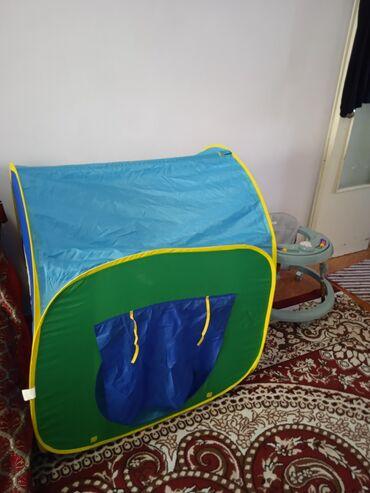 Детский мир - Пригородное: Продается игровая палатка поместится 4- ребенка состояние отличное как