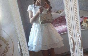 Короткая свадебное платье 8000с , одевала один раз в Бишкек