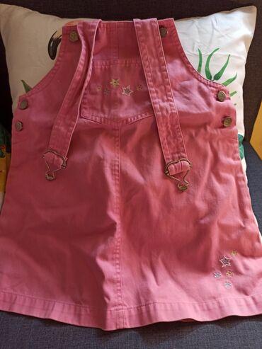 Decije haljine - Krusevac: Prelepa haljinica na tregere za devojčice.100% pamuk, proizvodjač