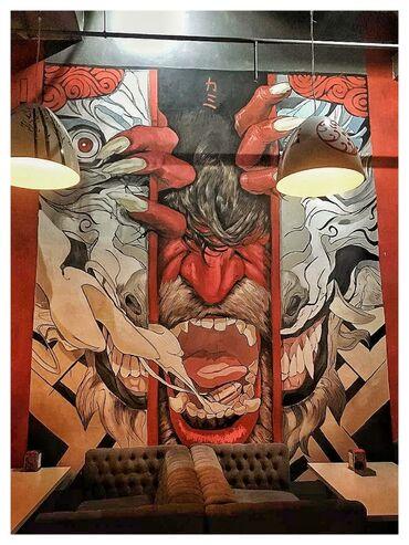 работа на заводе в бишкеке в Кыргызстан: Роспись стен! Фотографии свои.Оформим любое ваше помещение на высоком