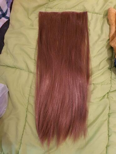 Ostalo   Loznica: Kosa na klipse  60 cm