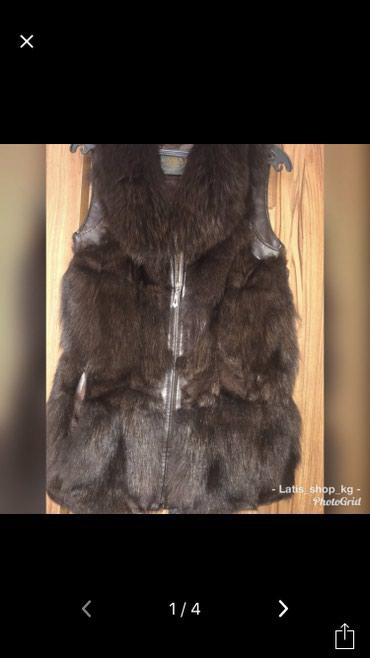 Срочно продаю меховую жилетку. в Бишкек