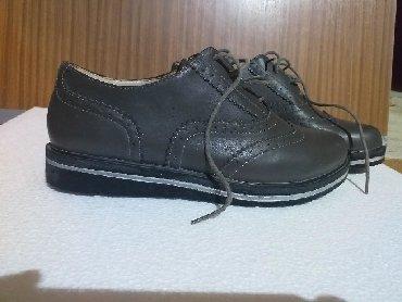 Cipele Sive, gumeni djon,velicina 41, eko kozasamo jednom nosene - Batajnica