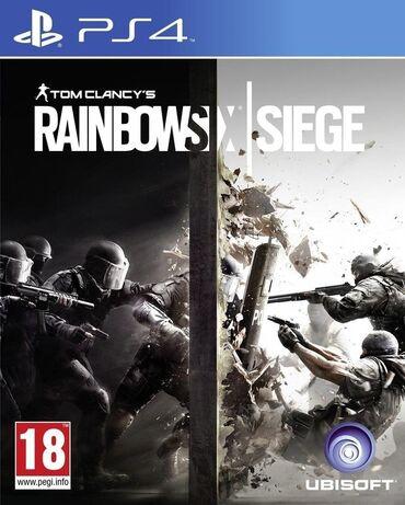 Rainbow six siege. Satışda PS4 üçün Bütün Oyunlar və Aksesuarlar var