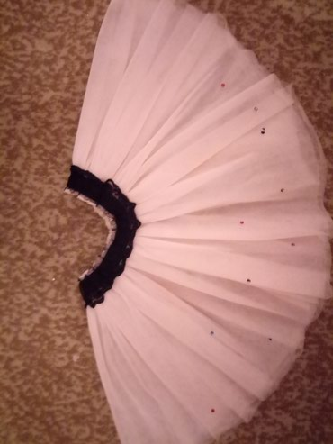 Юбка из фатина б/у от года до 3лет.Цвет юбки нежно персикового цвета. в Бишкек