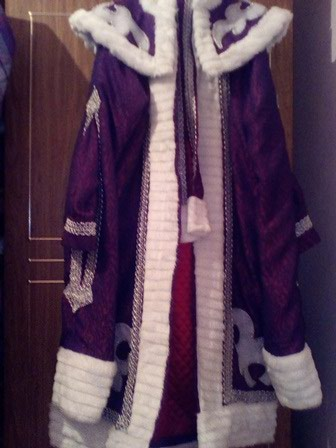 Новогодний костюм Деда Мороза в Бишкек