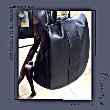 Кожаный рюкзак  Качество 🧨 Есть расцветки  Работаем ежедневно Доставка